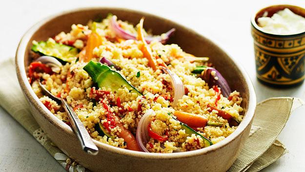 Roast vege couscous