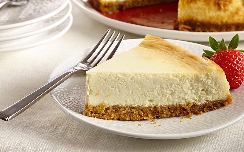 New york style vanilla cheesecake