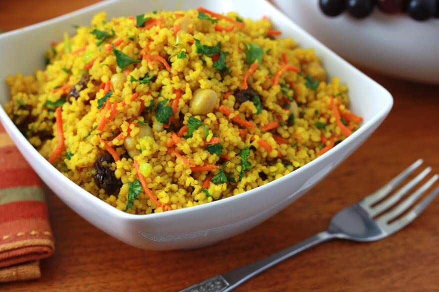 Curried couscous salad 2