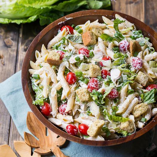 Caesar pasta salad 5