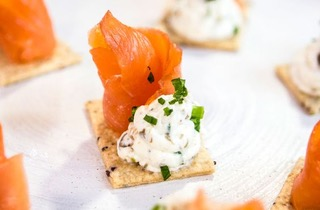 Salmon and cheese biscuits